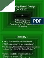 Reliability Based Designce152_SG