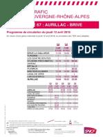 Ligne Aurillac - Brive