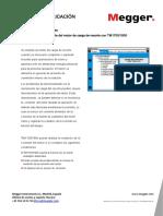 Medicion de La Corriente Del Motor de Carga de Resorte Con TM1700-1800 ESES V01