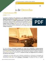 ¿Qué Es Derecho Sustantivo_ - Su Definición, Concepto y Significado