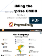 Building an Enterprise CMDB for ITSM-Progress Energy