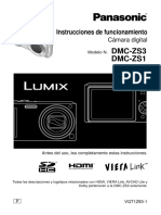 Camara Panasonic Dmc-zs1