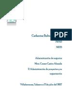 2. Administracion de Proyectos y Su Organizacion