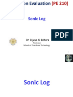 10..Sonic Log