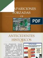 DESAPARICIONES FORZADAS PPT