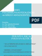 Intervenciones Psicoanaliticas Con Niños y Adolescentes Para Alumnos 1