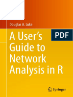 A User s Guide to Network Analysis in R