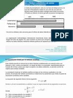 Presentación No.8 Relleno Estadístico de Series Pluviométricas y Fluviométricas (2018)