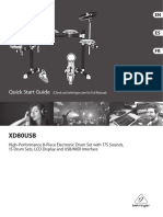 XD80USB Bateria
