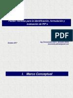 Sesión 1. Pautas Formulación Evaluación de PIP´s PSI