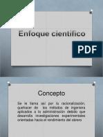 enfoque cienifico