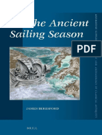(Mnemosyne Supplements_ History and Archaeology of Classical Antiquity, 351) James Beresford-The Ancient Sailing Season-Brill Academic Pub (2012).pdf
