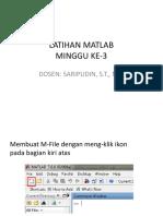 ppt belajar matlab