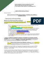03 Aplicação Da Lei Processual Penal - Cooperação