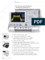 Spectrum Analyzer Hms3000_hms3010