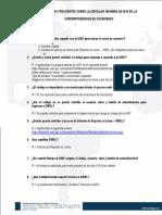 Preguntas Frecuentes CE100-00005 de 2014