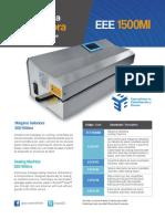Selladora EEE 1500 Brochure
