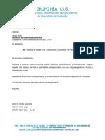 Carta Delicias