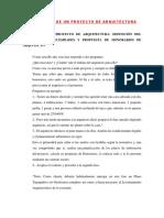 Las 6 Fases de Un Proyecto de Arquitectura