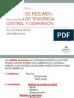 Clase 3 Medidas de Resumen 1 - Medidas de Tendencia Central