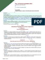 LEGE 187 Din 2012 de Punere in Aplicare Cod Penal