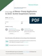 Intelligent Neuro Fuzzy Application in Semi Active Suspension System