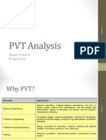 PVT Analysis