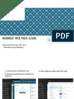 Membuat Web Pada Azure2