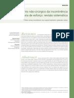 2010 - Tratamento Não-cirúrgico Da Incontinência