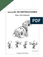 Manual Star Adventurer Espanol