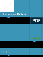 sentencing options