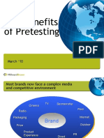 Benefits of Pretesting
