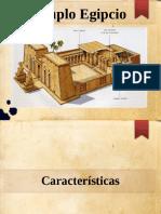 templos egipcios diapositiva