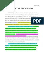 hannah gill - dbq - the fall of rome