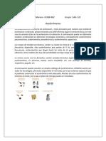 Acelerometro y Sismometro
