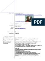 Curriculum Vitae European Fara Frontal