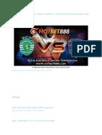 Prediksi Sporting CP vs Atletico Madrid 13 April 2018 Piala Dunia Rusia 2018