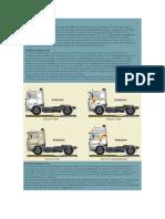 Datos de Volvo Cabinas y Modelo