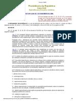 Decreto Nº6.640 de 2008 - Dispõe Sobre a Proteção Das Cavidades Naturais Subterrâneas Existentes No Território Nacional.