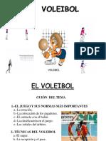 Ppt Presentacion Voleibol