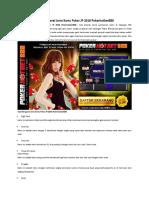 Tips Mengenal Jenis Kartu Poker JP 2018 Pokerhotbet888
