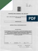 Informe de Contraloría EP Hidroequinoccio