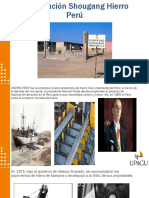 Privatización Shougang Hierro Perú