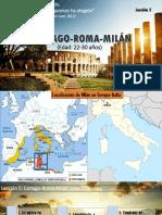 Lección 5 Cartago Roma Milán