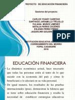 Proyecto de Educación Financiera