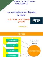 B. La Estructura Del Estado Peruano....