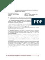 Modulo N° 01- Introducción a la Matematica Financieras y el valor del dinero en el tiempo