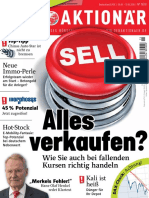 Der Aktionaer Magazin No 15 Vom 06. April 2018