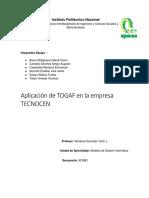 Togaf en Tecnocen