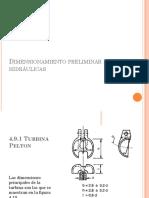 Dimensionamiento Preliminar de Turbinas Hidráulicas